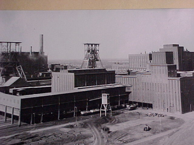 coal preparation plant and the coal mine of Beringen